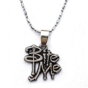 Jewelry - Bite Me Necklace Silver chain 18 gift box